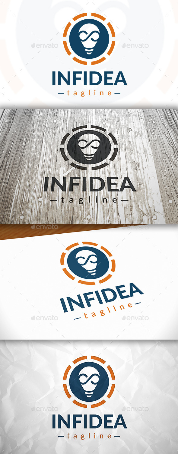 Infinite Idea Logo - Objects Logo Templates
