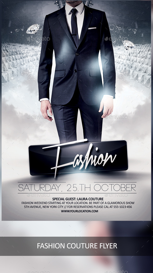 Fashion Couture Weekend - Events Flyers