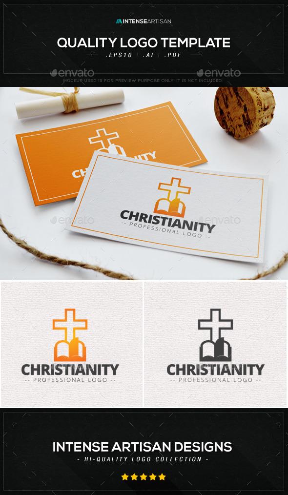 Christianity Logo Template - Symbols Logo Templates