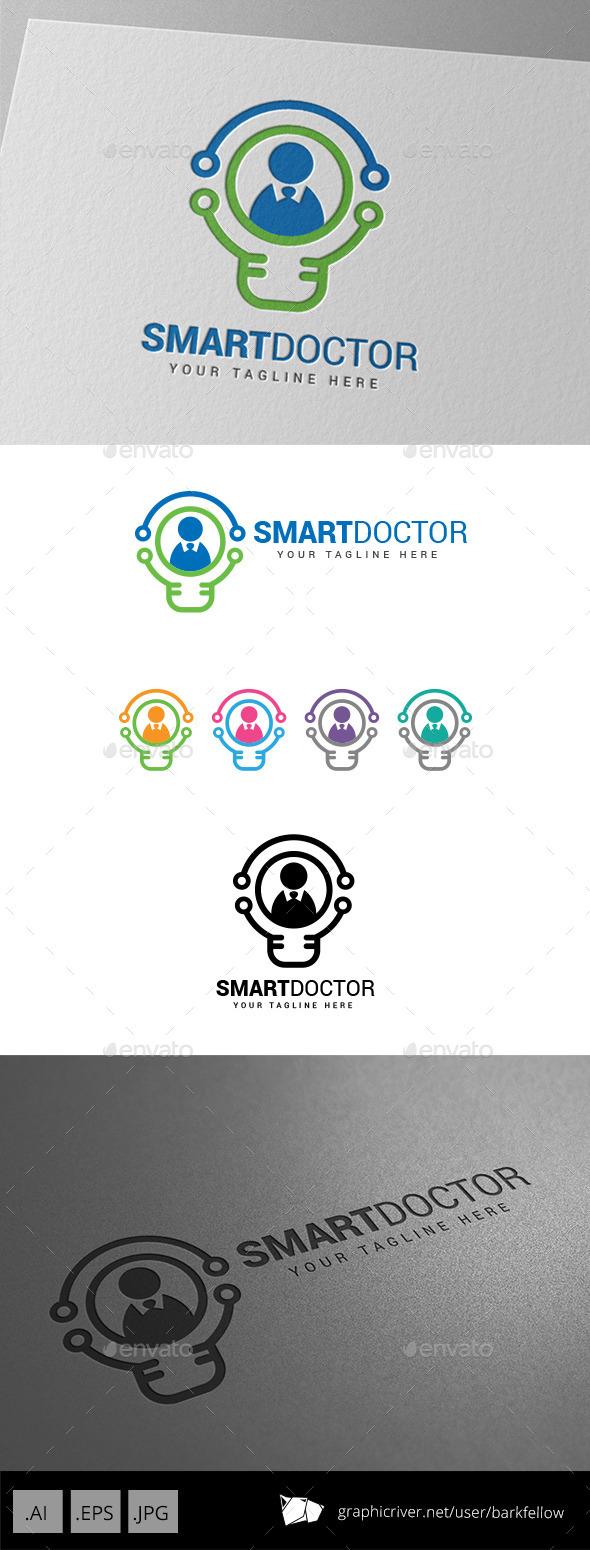 Smart Innovation Doctor Logo  - Humans Logo Templates