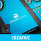 Creative Colourful Vertical Business Card - GraphicRiver Item for Sale