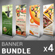 Restaurant Business Banner Bundle | Volume 5 - GraphicRiver Item for Sale