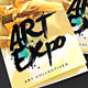 Art Show/Expo Trifold Brochure - GraphicRiver Item for Sale