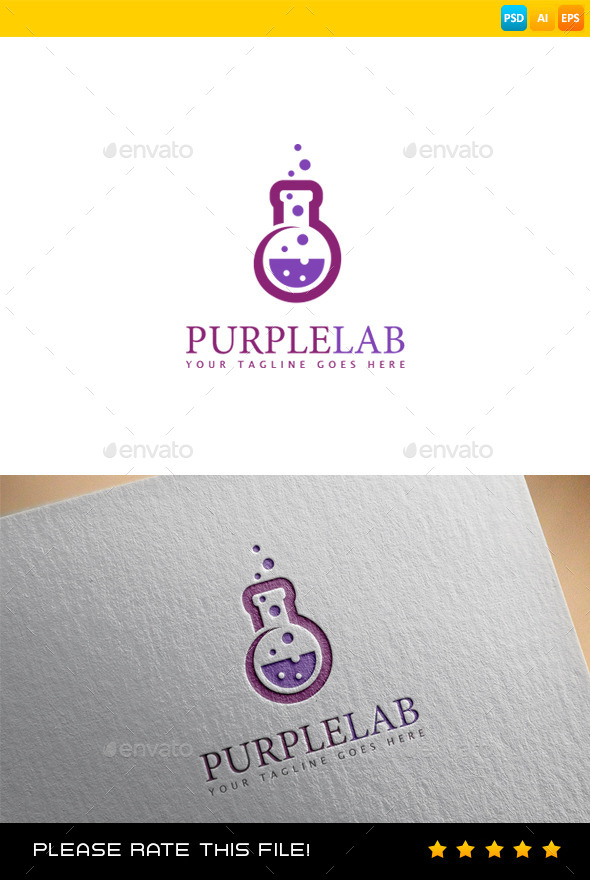 Lab Logo - Vector Abstract