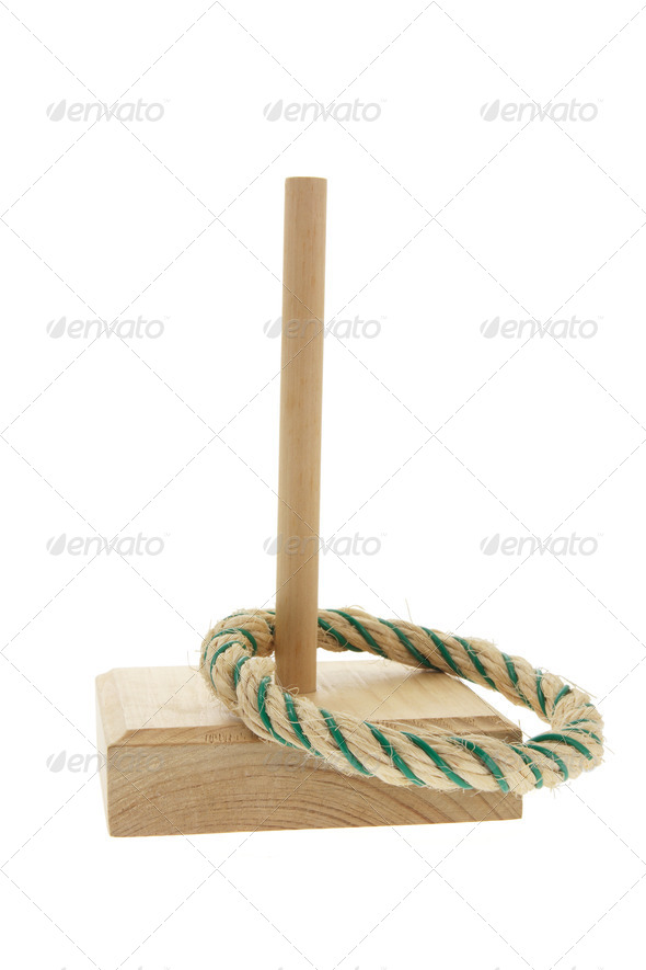 Ring Toss Game - Stock Photo - Images