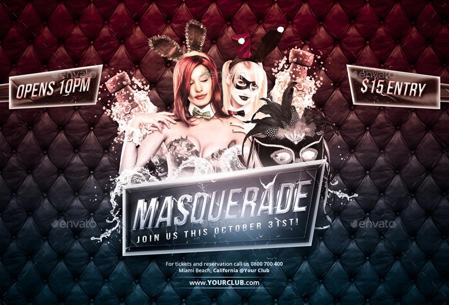 Masquerade - Flyer by VectorMedia   GraphicRiver