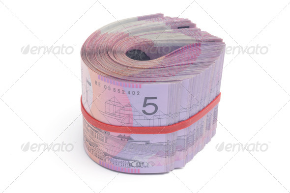 Bundle of Notes - Stock Photo - Images