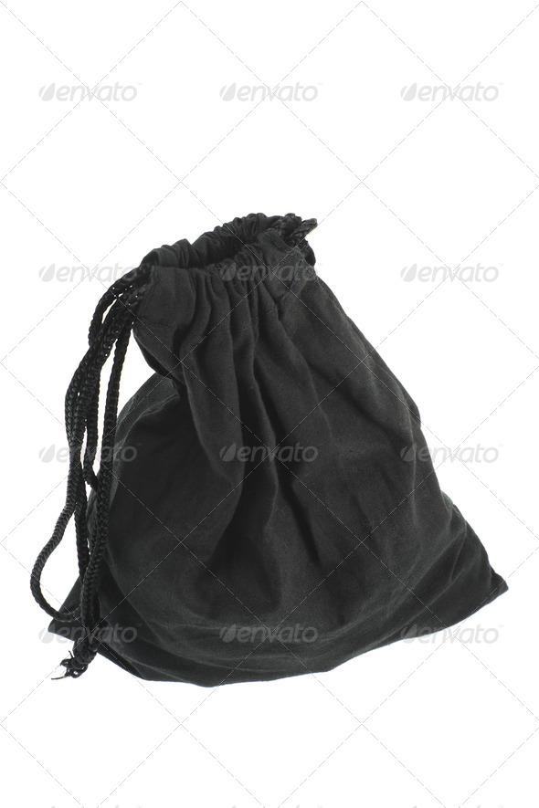 Drawstring Bag - Stock Photo - Images