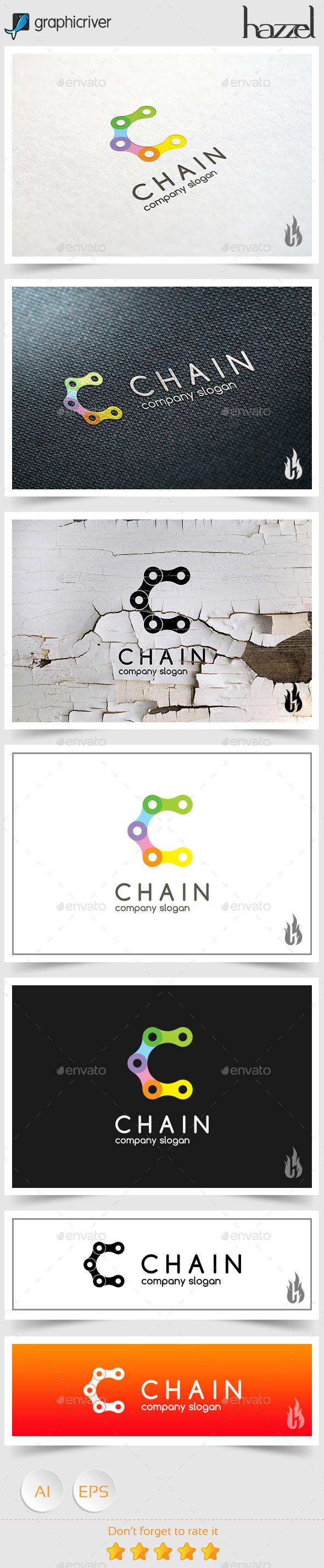 Chain - Letter C Logo - Letters Logo Templates