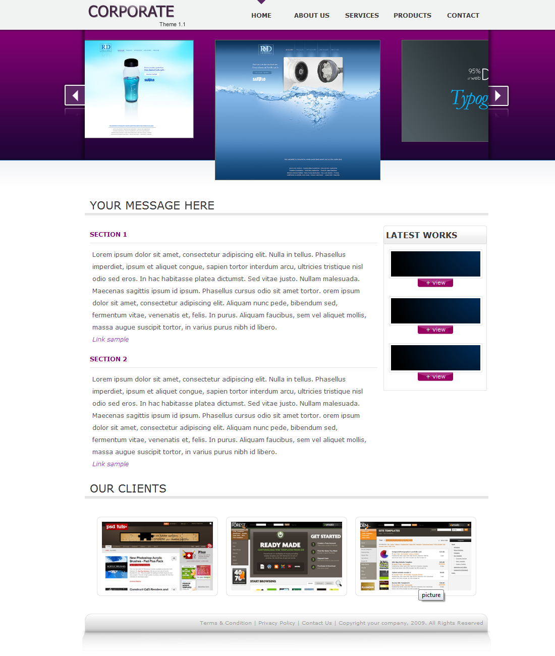 Free Download Corporate Theme 1.1 Nulled Latest Version