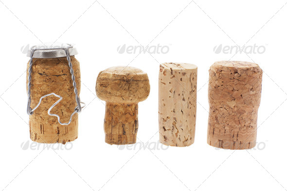 Cork Stoppers - Stock Photo - Images