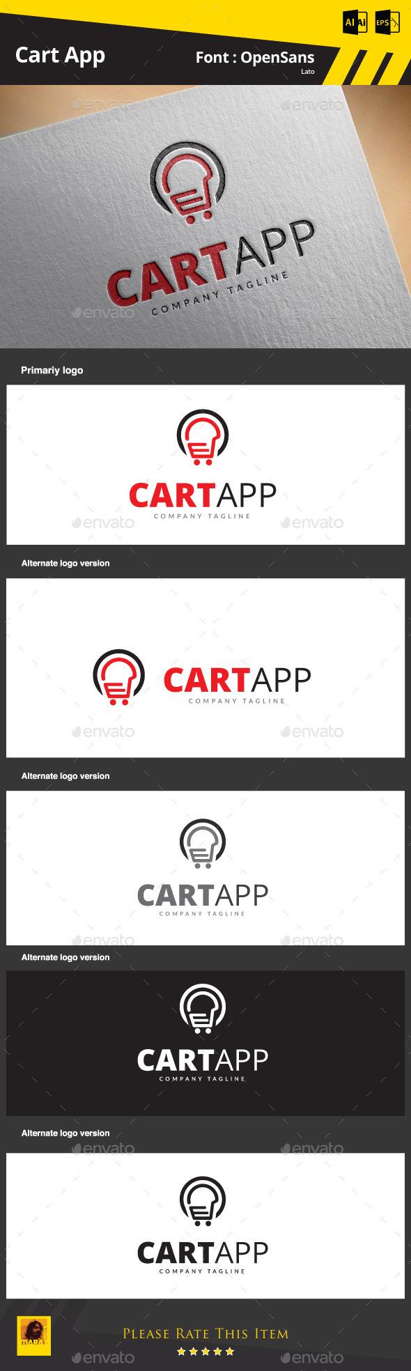 Cart App - Symbols Logo Templates