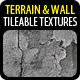 8 Tileable Terrain & Wall Textures - GraphicRiver Item for Sale