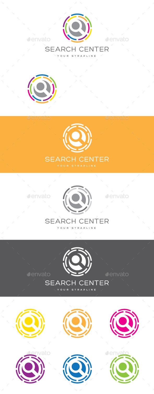 Search Center Logo - Symbols Logo Templates