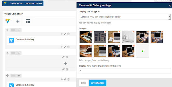 WPBakery Page Builder (formerly Visual Composer) Add-on - Carousel & Gallery - CodeCanyon Item for Sale