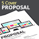5 Cover Proposal Template - GraphicRiver Item for Sale
