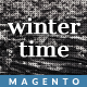 Responsive Magento Theme - Gala Wintertime Nulled