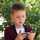 Young Man Communicates On The Smartphone - VideoHive Item for Sale