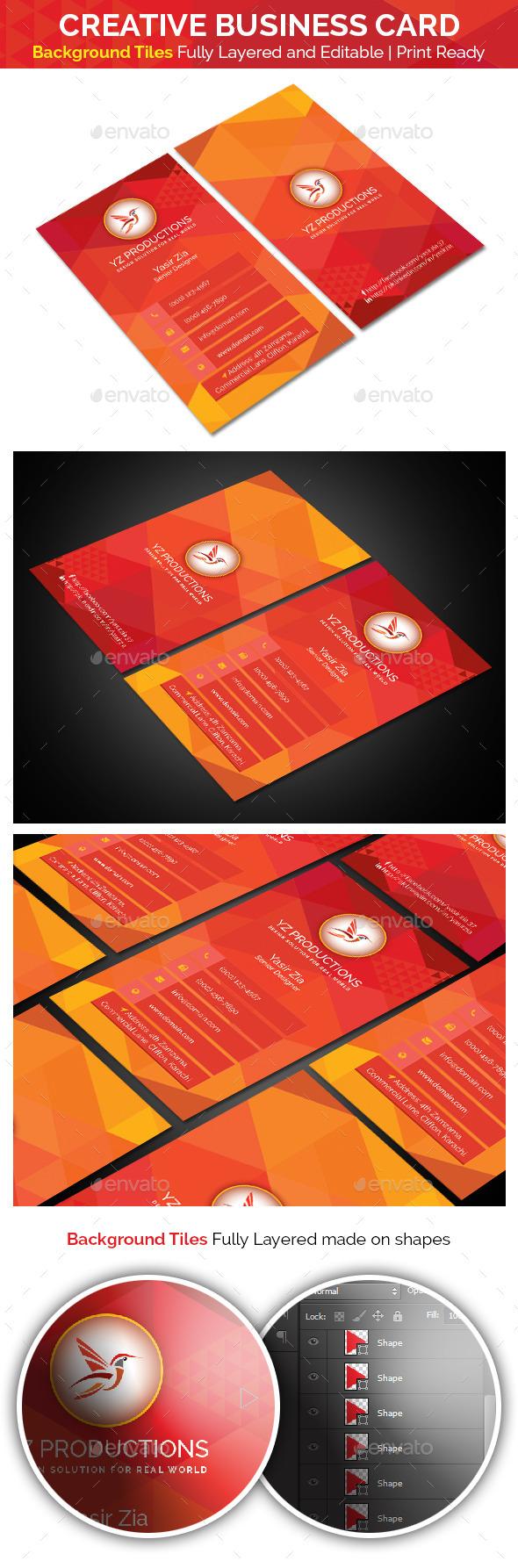 Creative Business Card V-2.0 - Creative Business Cards