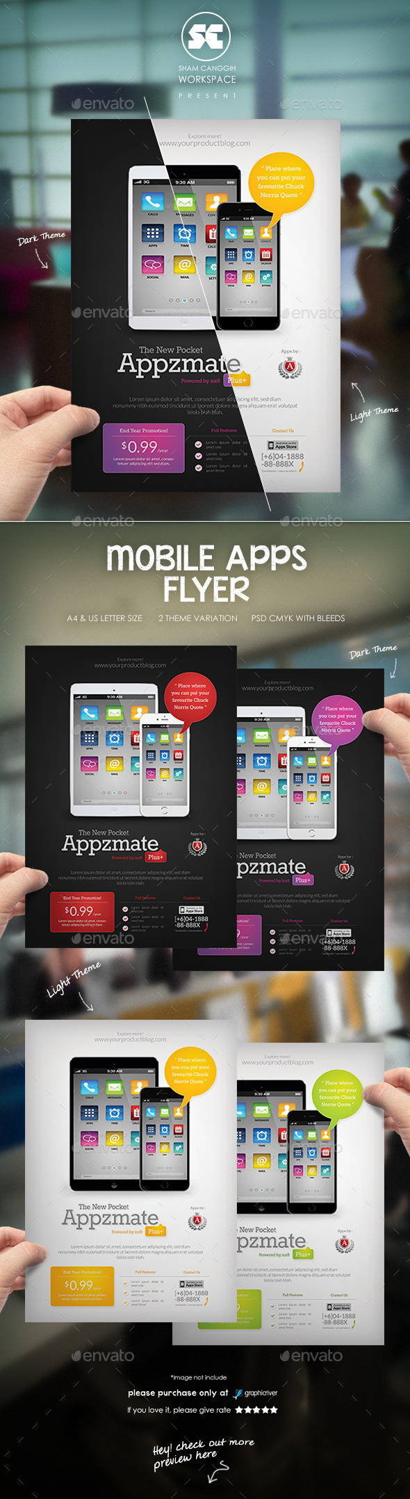 Mobile Apps Business Flyer - Miscellaneous Events