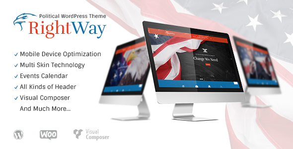 Right Way | Political WordPress Theme - Political Nonprofit