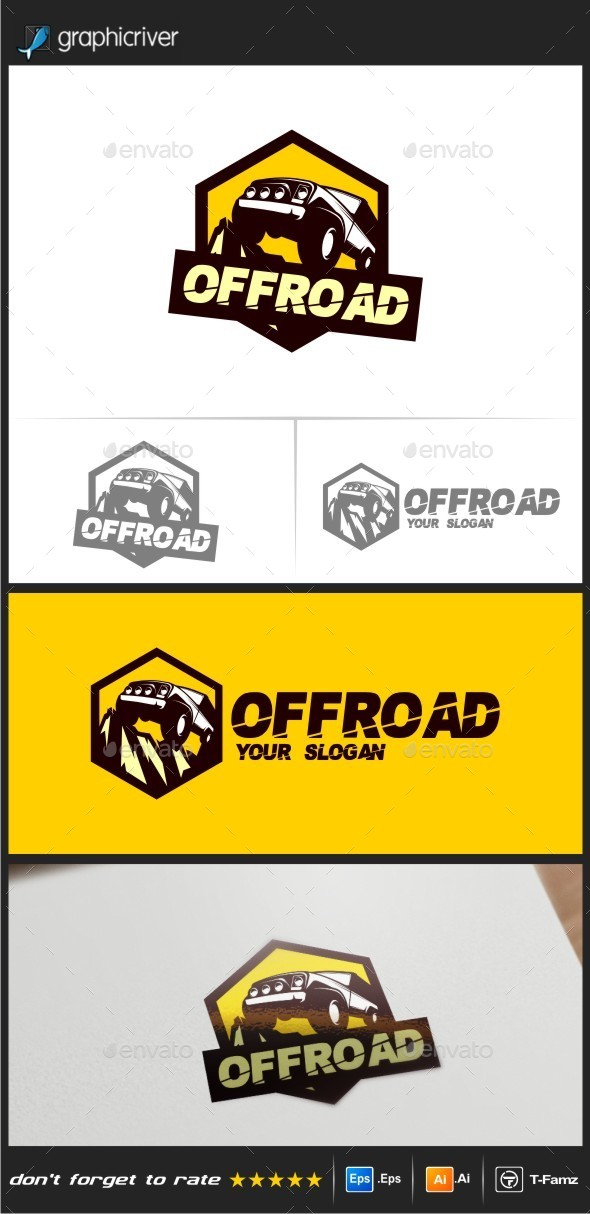 Off Road Logo Templates - Objects Logo Templates