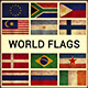 World Flags Grunge and Retro (Part 3)