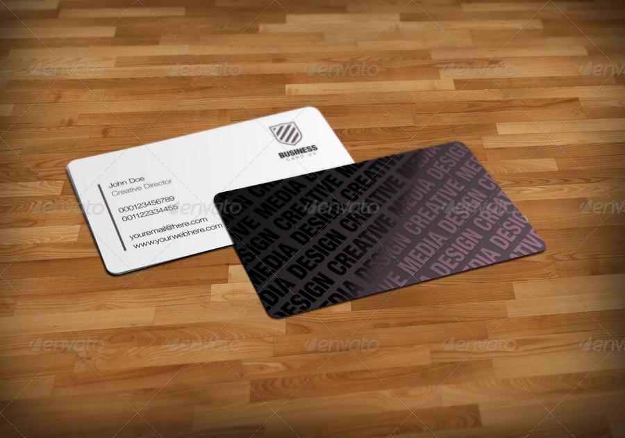 Business Cards UV Mockup v2 by BlueMonkeyLab | GraphicRiver