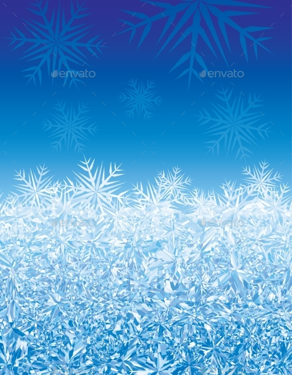 Ice background - Christmas Seasons/Holidays