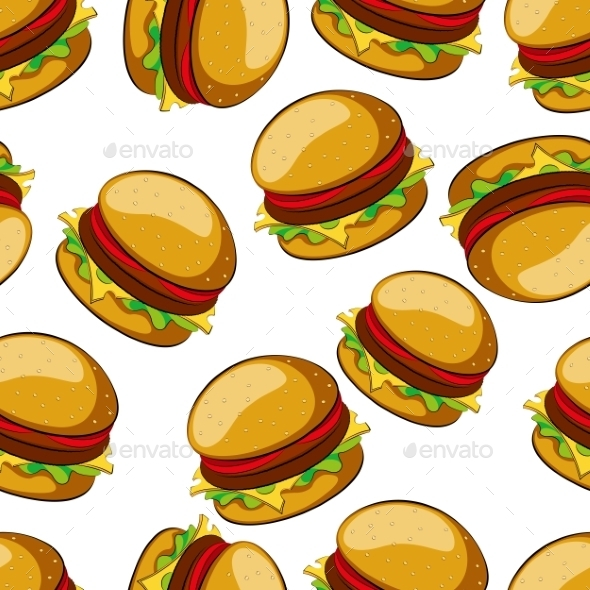 Hamburger  - Patterns Decorative