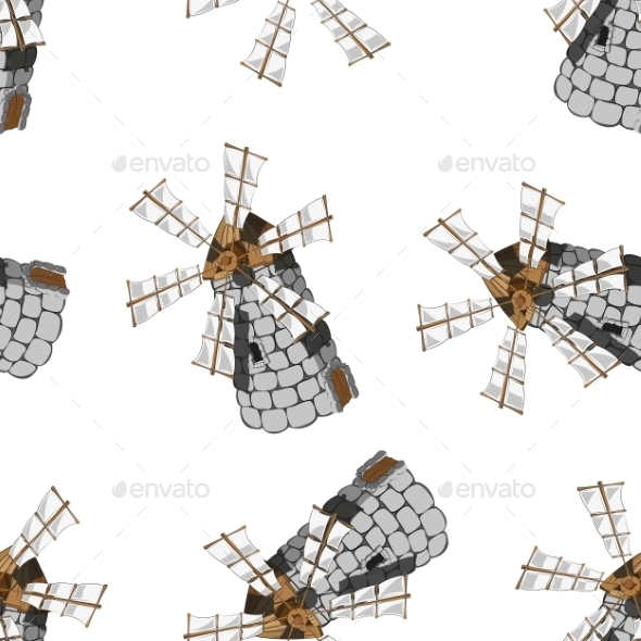 Windmill - Backgrounds Decorative