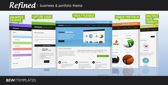 Free Download Refined : Business & Portfolio Theme Nulled Latest Version
