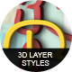 3D Layer Styles Bundle - GraphicRiver Item for Sale