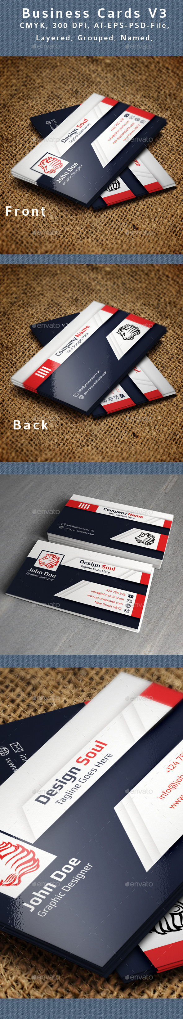Creative Business Card V3 - Creative Business Cards