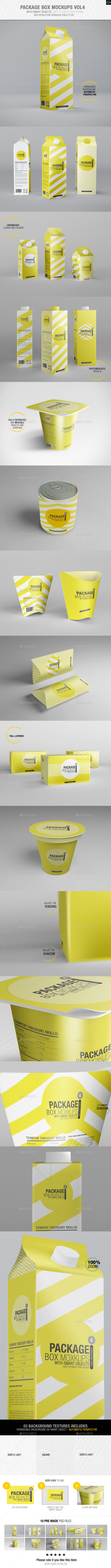 Package Box Mockups Vol4 - Packaging Product Mock-Ups