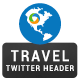 Travel Twitter Header - GraphicRiver Item for Sale