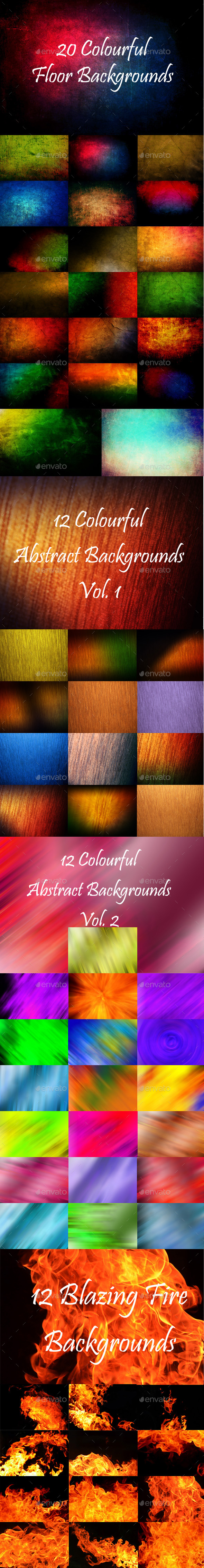 64 Abstract Backgrounds Bundle  - Abstract Backgrounds