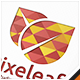 Pixel Leaf Logo - GraphicRiver Item for Sale