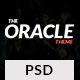 Magazine PSD Template - The Oracle Nulled