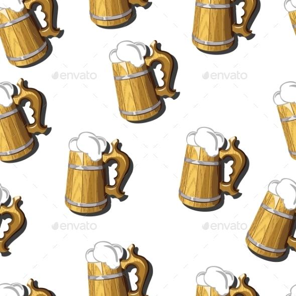 Beer Mug - Patterns Decorative