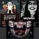 Halloween Party Flyer Bundle Vol. 3 - GraphicRiver Item for Sale