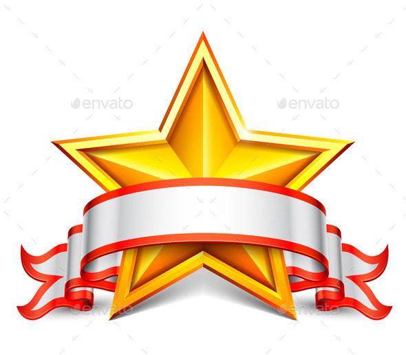 Star Banner - Decorative Symbols Decorative