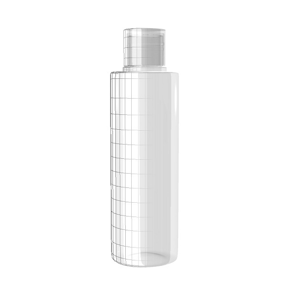 Transparent Bottle - 3DOcean Item for Sale