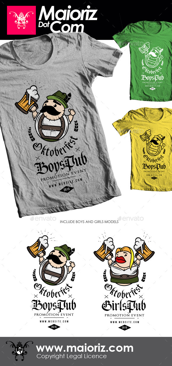 Oktoberfest Couple Tshirt
