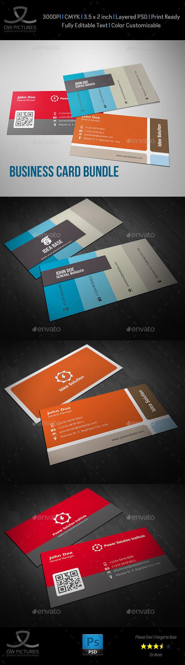 Corporate Business Card Bundle Vol.5 - Corporate Business Cards