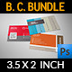 Corporate Business Card Bundle Vol.5 - GraphicRiver Item for Sale