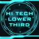 Hi Tech Lower Third - VideoHive Item for Sale