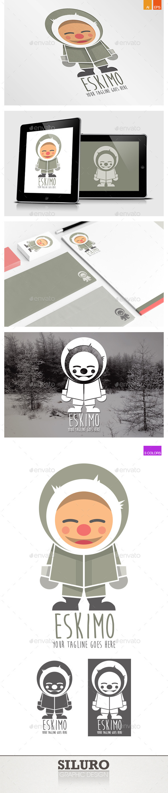 Eskimo Logo - Humans Logo Templates