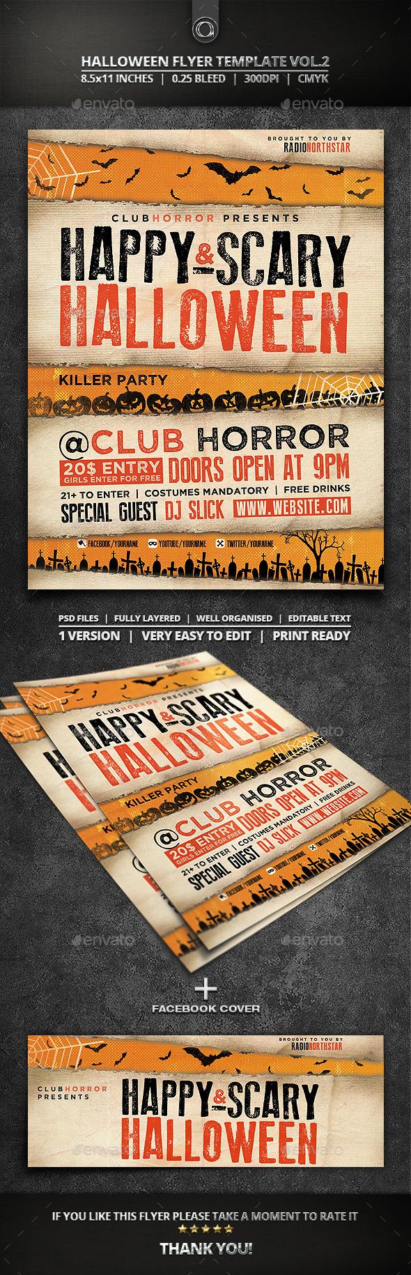 Halloween Flyer Template Vol.2 - Events Flyers