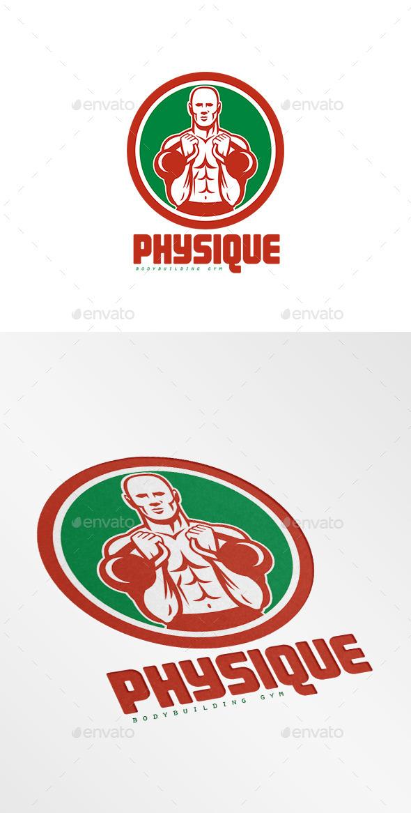 Physique Bodybuilding Gym Logo - Humans Logo Templates